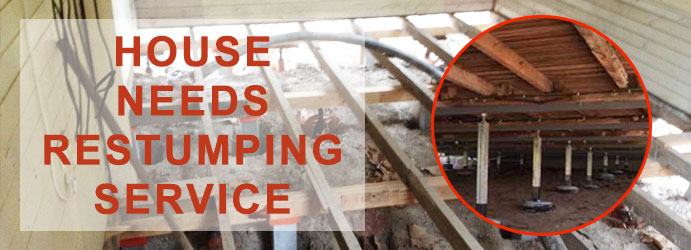 House Needs Restumping Service Melbourne